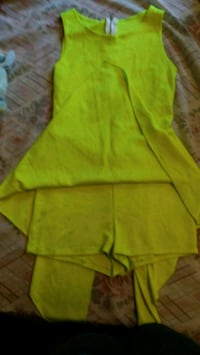 Neon yellow jumper shorts High Point, 27262