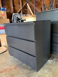 IKEA 3-drawer chest and 4-drawer chest