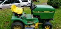 green and yellow John Deere ride on lawn mower Point Marion, 15474