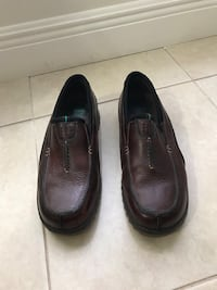 Streetcars size 11 Men's slip-on brown leather shoes  West Palm Beach, 33411