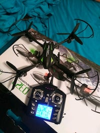 black and green quadcopter with controller Elizabeth, 07206