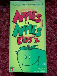 Apples to Apples Kids 7+ edition Rochester, 03867