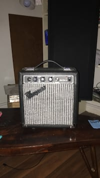 silver and black guitar amplifier Kitchener, N2A 2M4