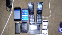 six assorted candybar phones and two smartphones Coventry, CV5