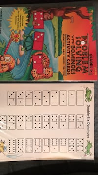 2 New Problem Solving with Dominoes Activity Cards Grades 1-4 Columbia, 21045