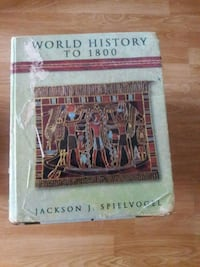 World History To 1800 by Jackson J. Spielvogel book