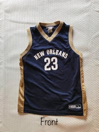 Anthony Davis NBA Jersey New Orleans #23 Youth Large. Pre-owned.  Gretna, 70056