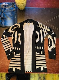 black and white stripe long-sleeved shirt Ontario, K8V 1Z5
