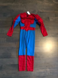 Boys Spider-Man costume - Size small 2-4T - $10 Markham, L3R 9L4