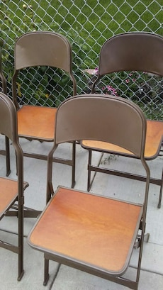For rent or for sale.  6 chairs $35