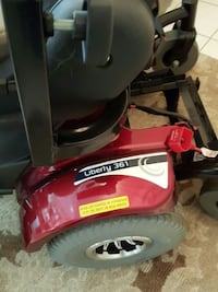 red and black liberty 361powered wheelchair Cerritos, 90703