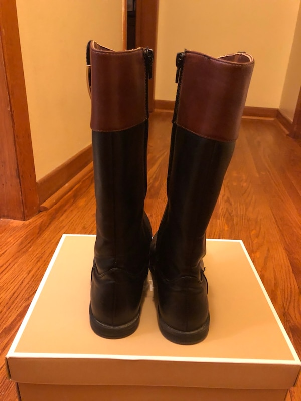 bcec40a7e11a Used Girls black Tommy Hilfiger boots Size 1 for sale in London - letgo