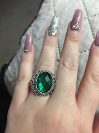 New size 9 sterling silver ring with gemstone San Antonio, 78227