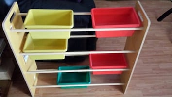 BRAND NEW TOY ORGANIZER FOR HOME OR CLASS ROOM