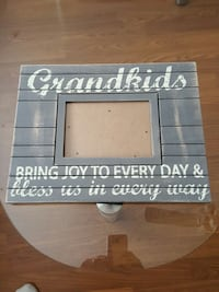 gray and white wooden picture frame Kelowna, V1P 1L9