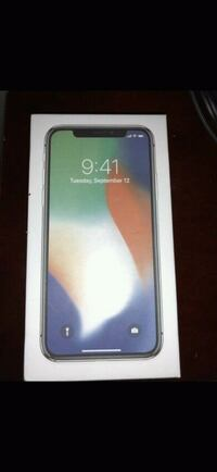 Selling brand new sealed silver iPhone x w receipt