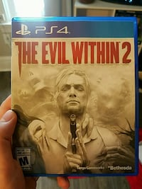 Sony PS4 evil within 2  St. Catharines, L2S 4C2