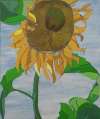Sunflower painting VANCOUVER