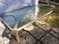 Glass outdoor table  Woodbridge, 22193