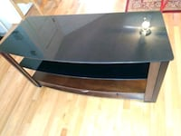 black and gray TV stand Manassas