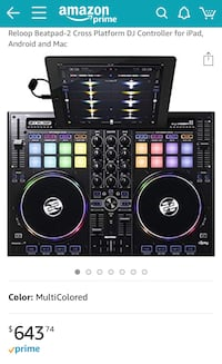 Reloop Beatpad2 DJ equipment (New) Alexandria, 22315