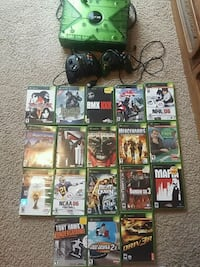Original xbox with 18 games  Guelph, N1L 0E5