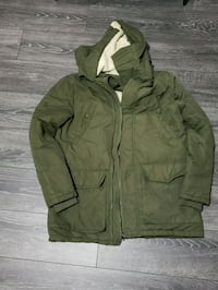 French Connection Olive Green Parka mens Waterloo, N2L 0A1