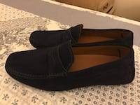 pair of black suede slip-on shoes Falls Church, 22043