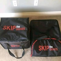 Skip the dishes delivery bag Waterloo, N2T 2Y4