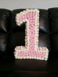 Floral Number 1 Decoration (BirthdayParty), Arts & Crafts CTY OF CMMRCE, 90040