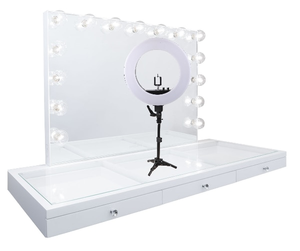 13inch Table-Top LED Diva/Beauty Ring Light