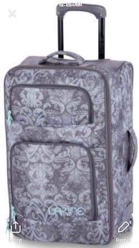 36L Dakine Carry-on wheeled floral luggage 544 km
