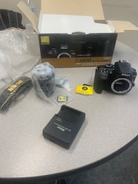 BRAND NEW NIKON 3400 with 18-55mm, charger, battery, memory card, strap, box!!!! Owings Mills, 21117