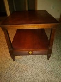 Antique real wood solid side table Greenville, 29607