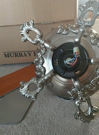 New - Murray Feiss ceiling fan Greenwood Lake