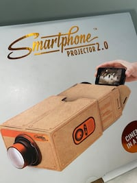 Phone projector