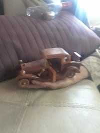 classic brown wooden vehicle scale model SANJOSE
