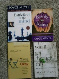 Joyce Meyers, Max Lucado Books