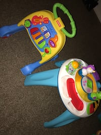 Two Fisher price toys