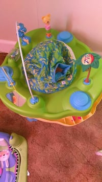 baby's green, blue, and yellow floor seat Pawtucket, 02860
