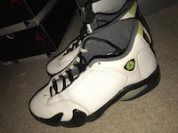 chartreuse 14s. Size 10.5