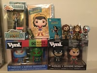 Funko DC Lot of many items. Rock Candy, Minis, Vynl & More  Cambridge, N1P 1A8