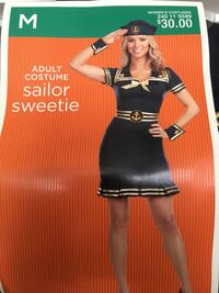 Never worn, Sailor Halloween outfit. Medium Bakersfield, 93312
