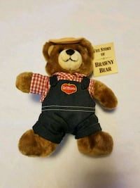 Del Monte the story of Brawny Bear new advertising Browns Mills, 08015
