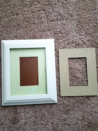 Pottery Barn frame with 2 matte options