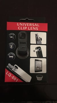 Universal clip lens 3 in 1 cellphone  Laval, H7N 6H2