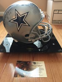 Autographed Dallas Cowboys Doomsday Defense II Full-Size Helmet Rockville, 20850