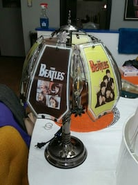 Beatles touch lamp retro Wheeling