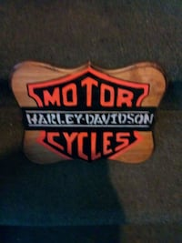 FATHER'S DAY is near..Harley Davidsin plaque Weymouth, 02190