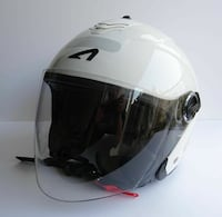 casque scooter Mini Jet Speedway Blanc Taille XS